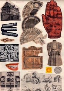 Marie Cerminova Toyen, Sans titre (collage_circa1960)