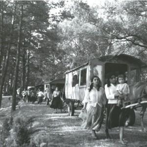 photo de 1964 Jerzy Dorozynski, Musée ethnographique de Tarnow, Pologne