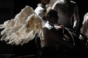 Le couronnement de Poppée ange